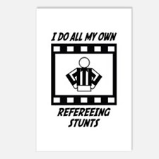 Refereeing Stunts Postcards (Package of 8)