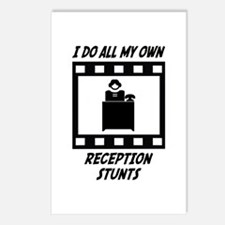 Reception Stunts Postcards (Package of 8)