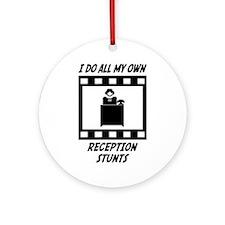 Reception Stunts Ornament (Round)