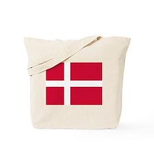 Danish Flag Tote Bag