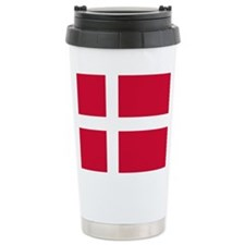 Danish Flag Travel Mug
