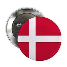 "Danish Flag 2.25"" Button (10 pack)"