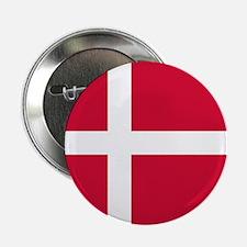 "Danish Flag 2.25"" Button"