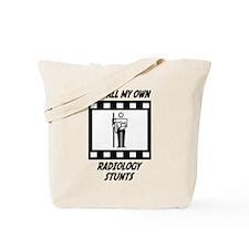 Radiology Stunts Tote Bag