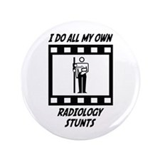 "Radiology Stunts 3.5"" Button (100 pack)"