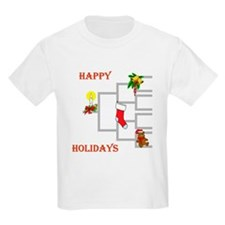 Genealogy Christmas<br> Kids T-Shirt