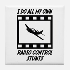 Radio Control Stunts Tile Coaster