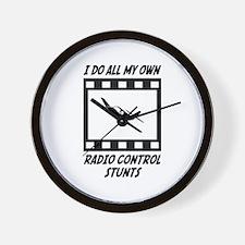 Radio Control Stunts Wall Clock