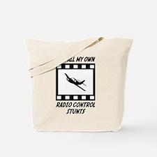 Radio Control Stunts Tote Bag