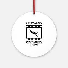 Radio Control Stunts Ornament (Round)