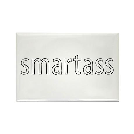 Smartass Rectangle Magnet