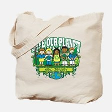 Earth Kids New Jersey Tote Bag
