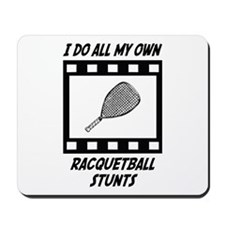 Racquetball Stunts Mousepad
