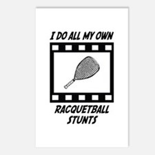 Racquetball Stunts Postcards (Package of 8)