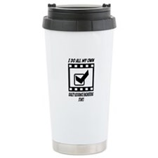Quality Assurance Engineering Stunts Travel Mug