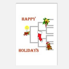 Pedigree Christmas Tree Postcards (Package of 8)