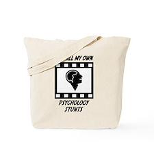 Psychology Stunts Tote Bag