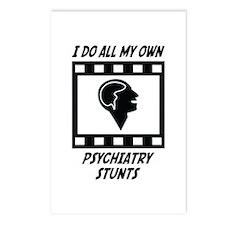 Psychiatry Stunts Postcards (Package of 8)