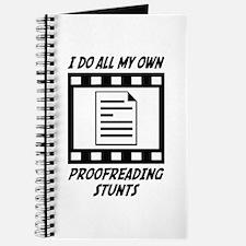Proofreading Stunts Journal