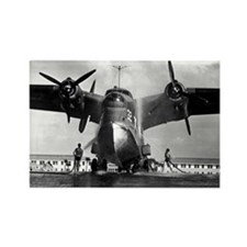 US NAVY FLYING BOAT Rectangle Magnet