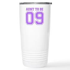 Aunt To Be 09 (Purple) Travel Coffee Mug