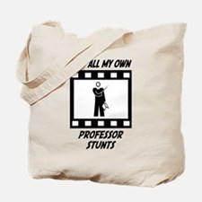 Professor Stunts Tote Bag