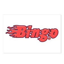 Bingo Blazed Postcards (Package of 8)