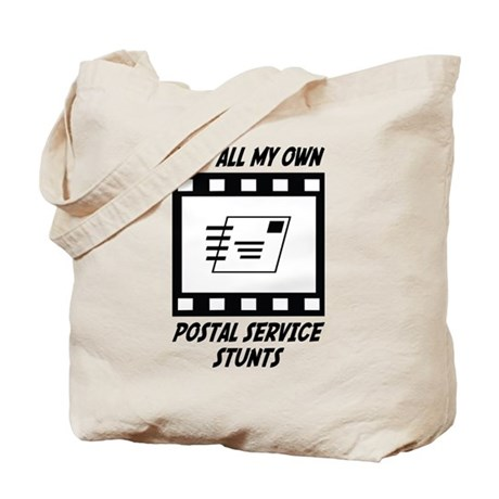 Postal Service Stunts Tote Bag