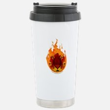 Tiger Flame Travel Mug