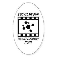 Polymer Chemistry Stunts Oval Decal