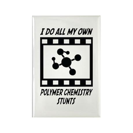 Polymer Chemistry Stunts Rectangle Magnet (10 pack
