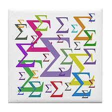 Sigma Tile Coaster