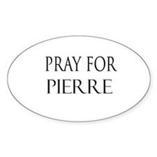 PIERRE Oval Decal