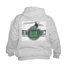 Human Test Subject Sweatshirt