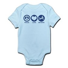 Peace Love Skydive Infant Bodysuit