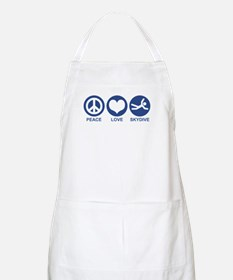 Peace Love Skydive BBQ Apron