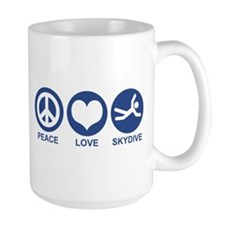 Peace Love Skydive Mug