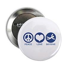 "Peace Love Skydive 2.25"" Button"