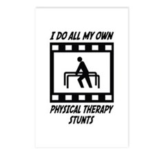 Physical Therapy Stunts Postcards (Package of 8)