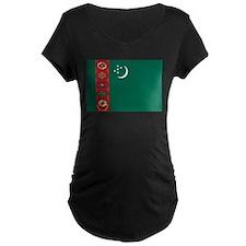 Flag of Turkmenistan T-Shirt