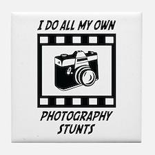 Photography Stunts Tile Coaster