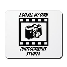 Photography Stunts Mousepad