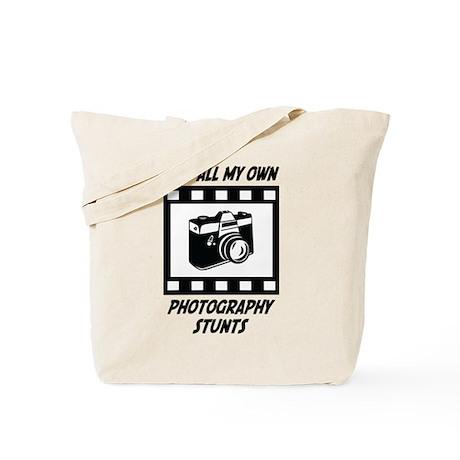 Photography Stunts Tote Bag