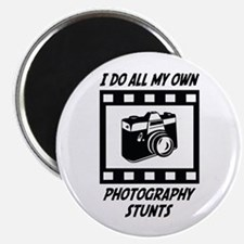 Photography Stunts Magnet