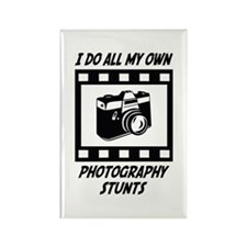 Photography Stunts Rectangle Magnet