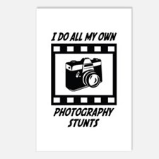 Photography Stunts Postcards (Package of 8)