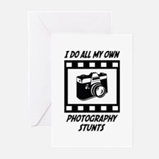 Photography Stunts Greeting Cards (Pk of 10)