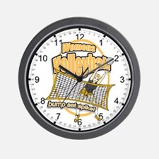Volleyball Spike Wall Clock
