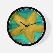 Cute Seashell wall Wall Clock