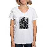PV-1 VENTURA BOMBER Women's V-Neck T-Shirt